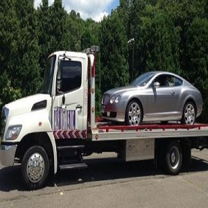 Towing Services - Flatbed Tow Truck